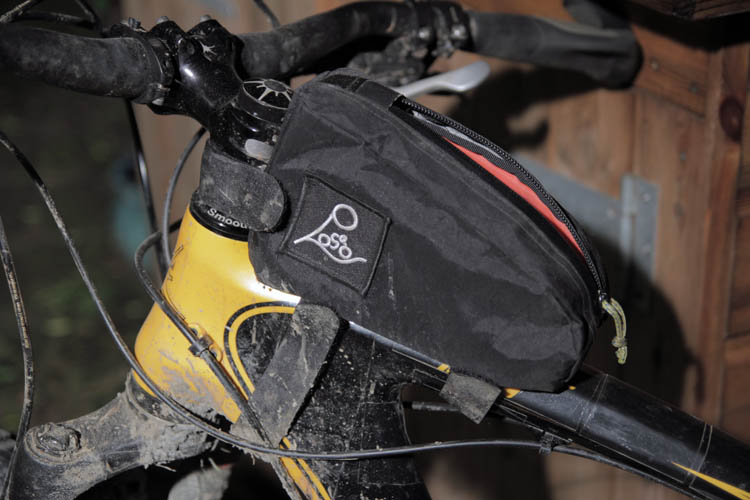 No Logo Bikepacking top tube bag | Composite-Projects